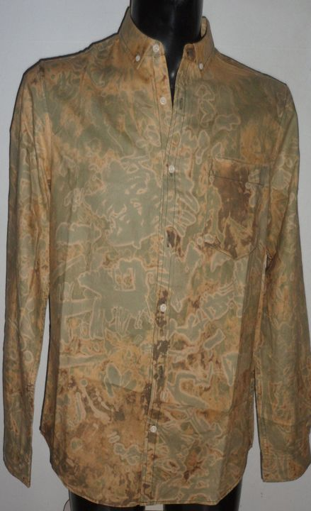 Monsylv Men Hand Printed Camouflage - Monsylv