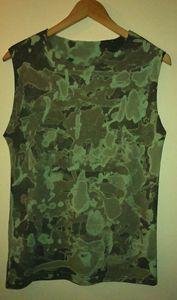 Unique Unisex Camouflage Vest - Monsylv