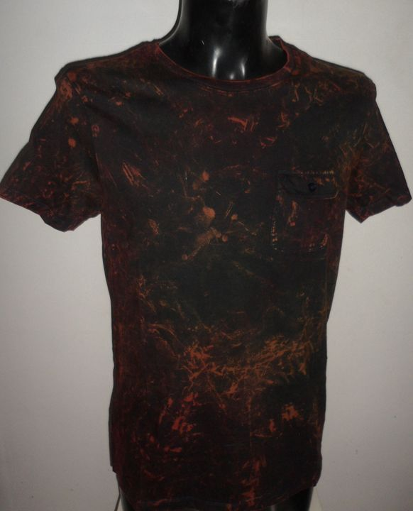Men Multi Coloured tie dye  t-shirt - Monsylv