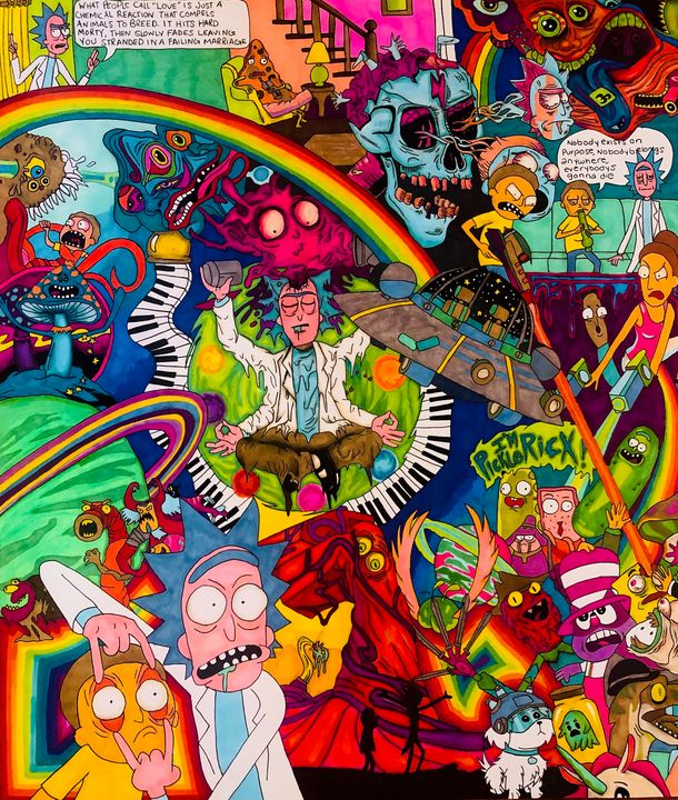 Rick and Morty - Jessy Infranco