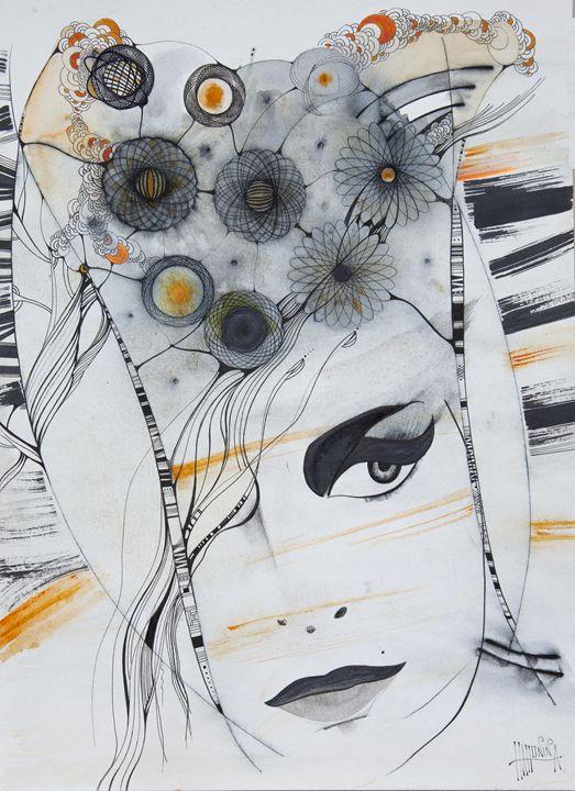 Windy Girl - HahoninArt