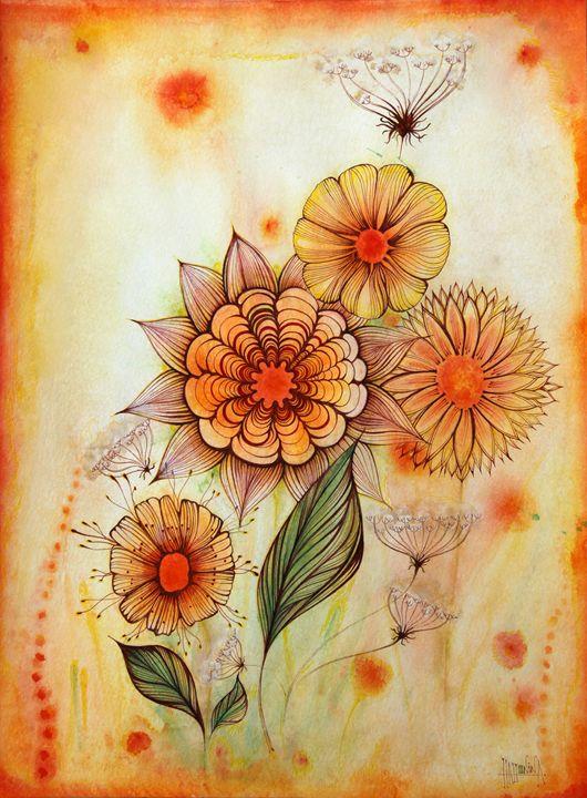 Orange Summer - HahoninArt
