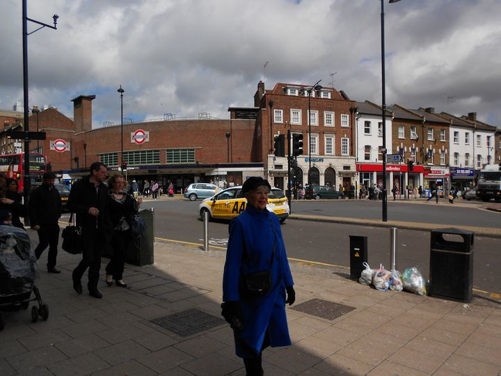 Woodgreen Station High Road London - Archie