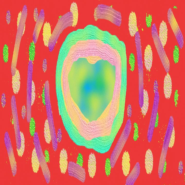 Red Background splash art - Archie