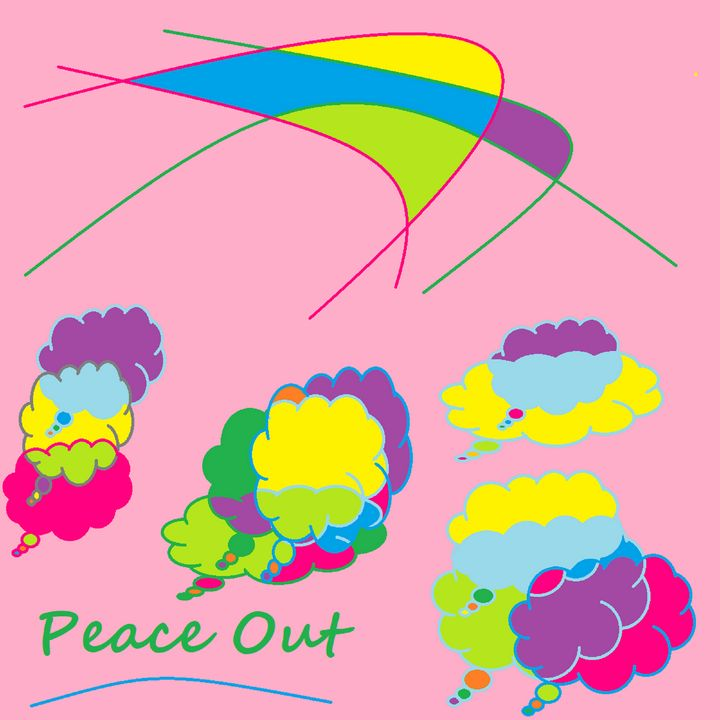 Peace message art poster - Archie
