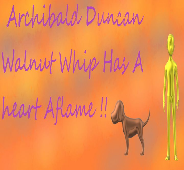 Archibald Duncan walnut whip - Archie