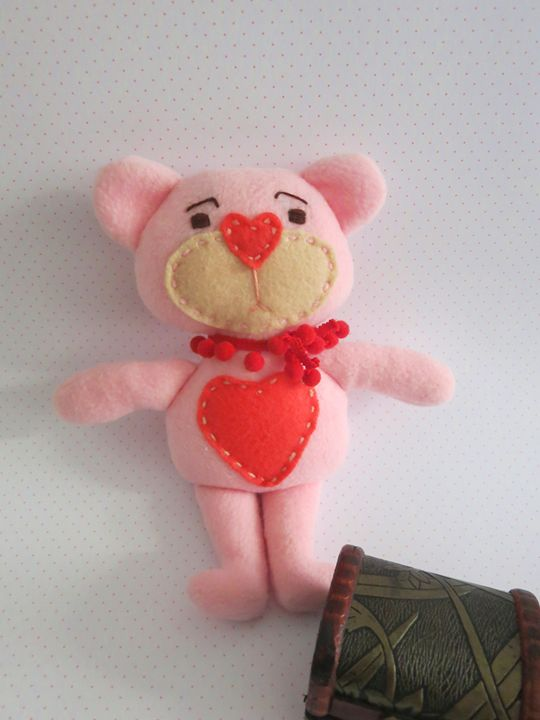 Teddy Bear Rag Doll - Grashkad