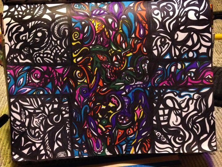 Von Doodle 1.0 - VonBlac Art