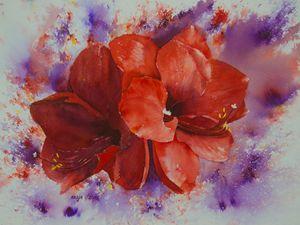 Amaryllis - Nadja Yabrova Art