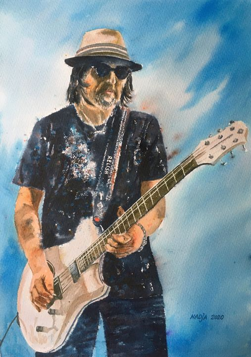 Mr. Phil Campbell - Nadja Yabrova Art