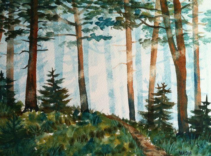 Morning Fog - Nadja Yabrova Art