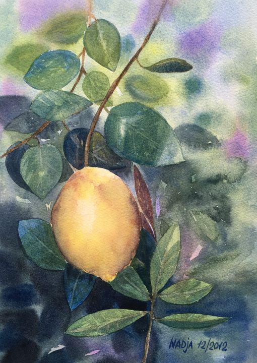 Lemon - Nadja Yabrova Art