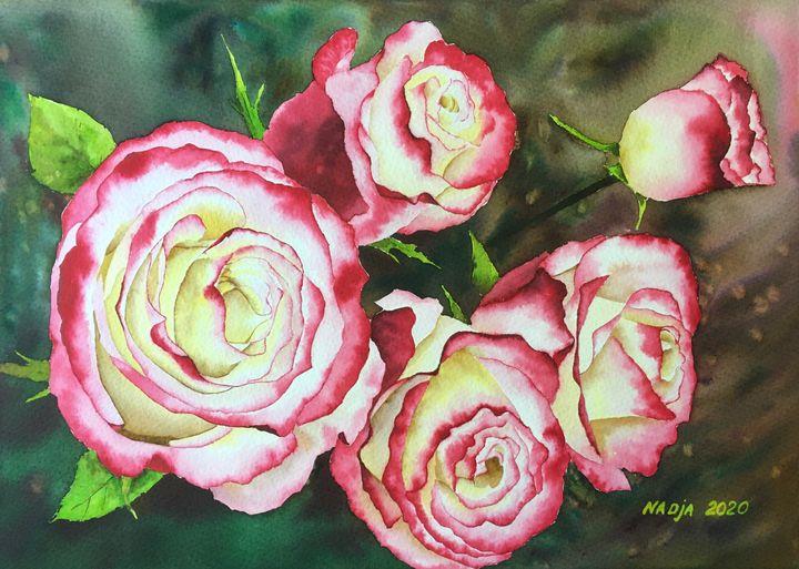 Roses - Nadja Yabrova Art