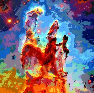 Pillars of Creation - John Jaster