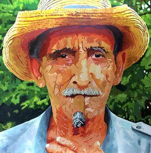 Faces #1 - A Simple Pleasure - John Jaster