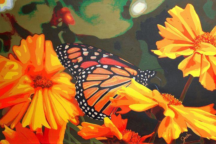 Butterfly Repose - John Jaster