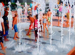 Fountain Frolic - John Jaster