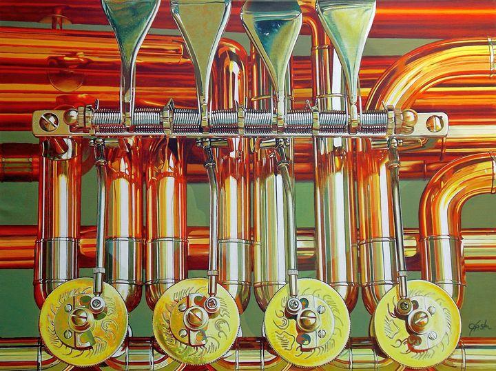 Symphony in Color - John Jaster