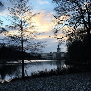 Winter Dawn, Schloss Charlottenburg