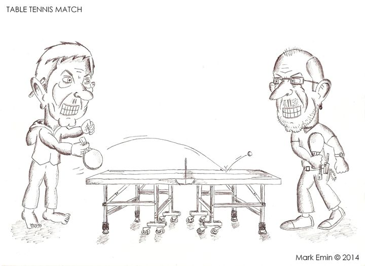 Table Tennis Match - Mark