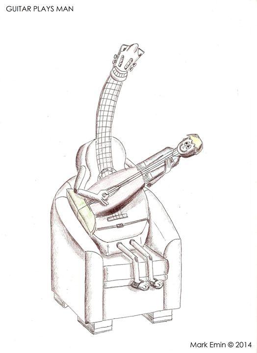 Guitar Plays Man - Mark