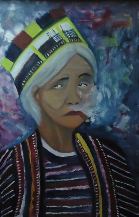 INDIGENOUS LADY (IGOROT LADY) - The Accidental Artist ( Raquel Diokno)