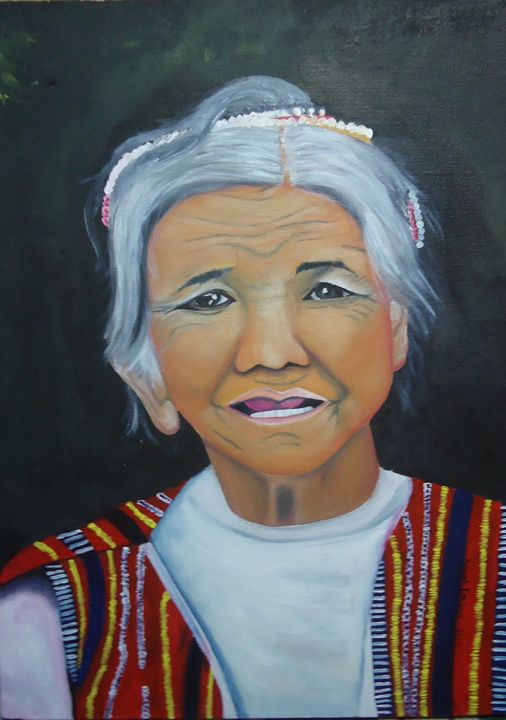 INDIGENOUS LADY III - The Accidental Artist ( Raquel Diokno)