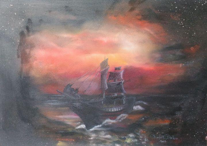 The clash of fantasy and dream - The Accidental Artist ( Raquel Diokno)