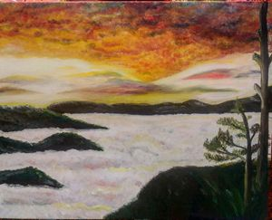Kiltepan Sagada sunrise