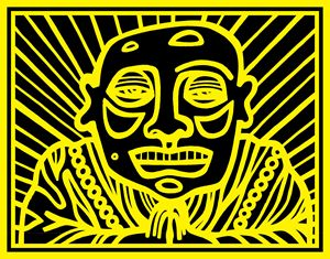 Black, Yellow, Buddha