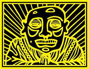 Black, Yellow, Buddha