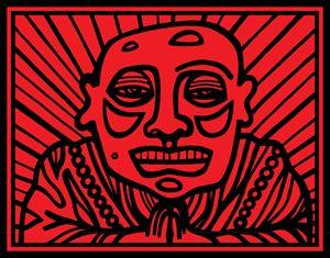 Red, Black, Buddha