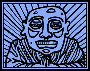 Blue, Black, Buddha