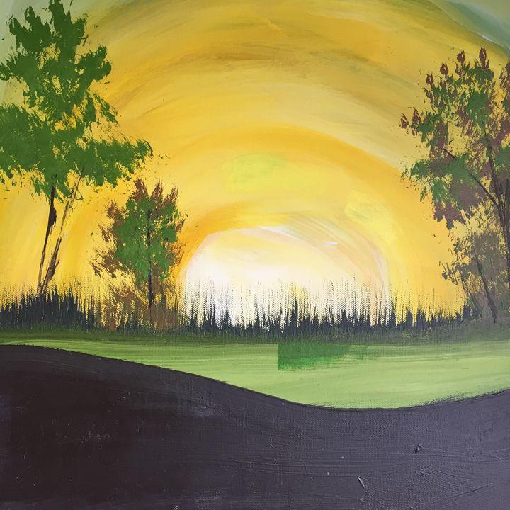 Landescape Abstract - Joeyj