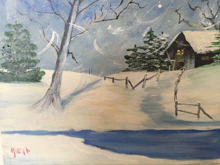 Snowy day - Joeyj