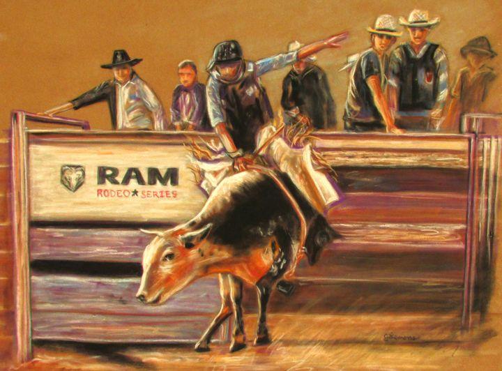 Dalton's Ride - Art by Julie Lemons