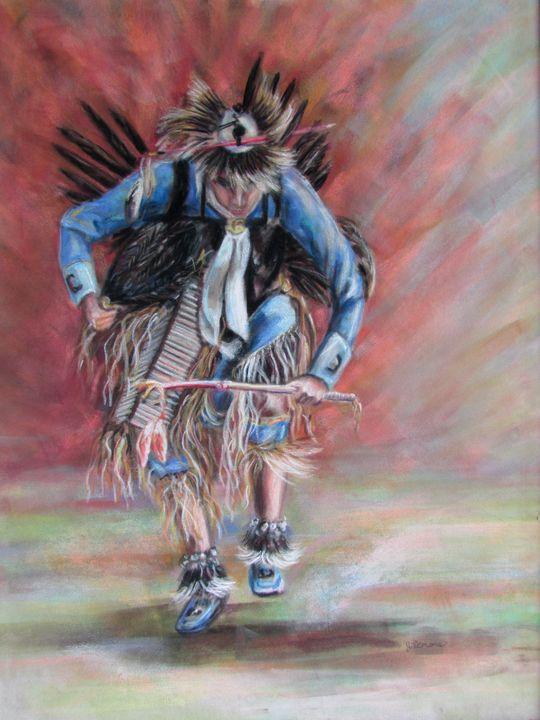 The Dancer - Art by Julie Lemons