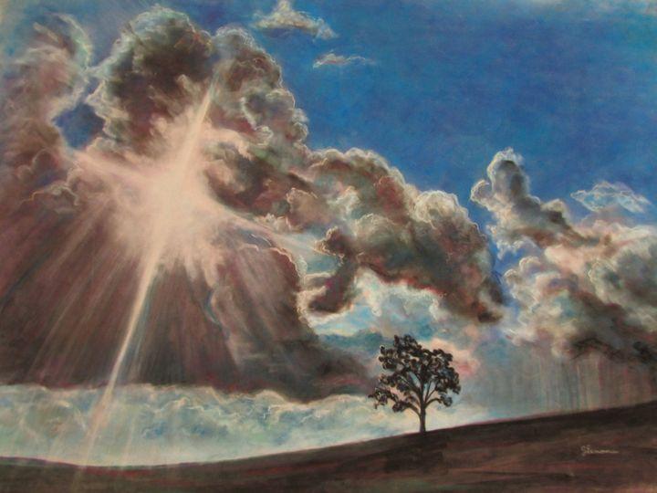 Across the Sky - Art by Julie Lemons