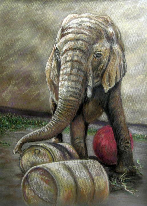 Taming the Wild - Art by Julie Lemons