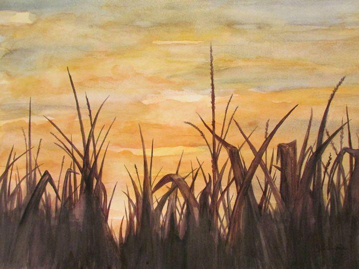 Crops Dance - Art by Julie Lemons