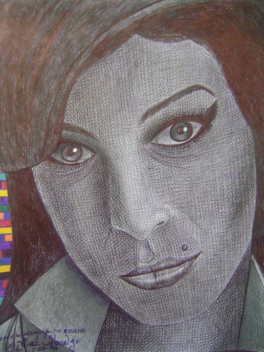Amy winehouse the legend - odinel pierre