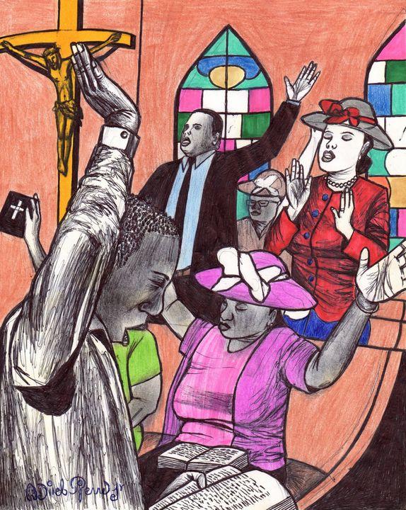 Sunday Mass - odinel pierre