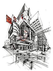 Arcitectural Fantasy. - Yury Fadeev