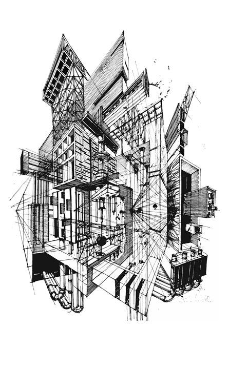 Architecture Fantasy - Yury Fadeev
