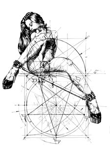 Samael Lilith an the Golden ratio