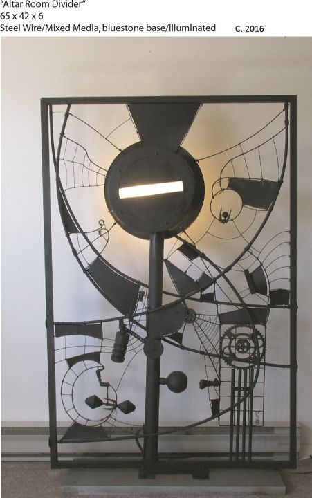 Altar Room Divider - Simon Berson