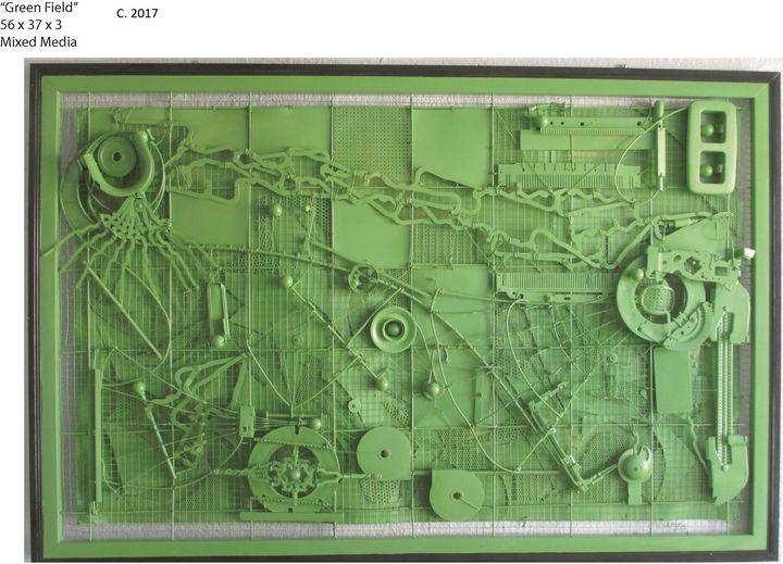 Green Field - Simon Berson
