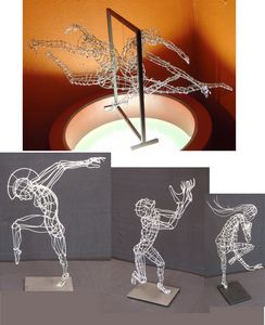 Various wire figures