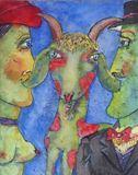 beautiful lamb between romantic part
