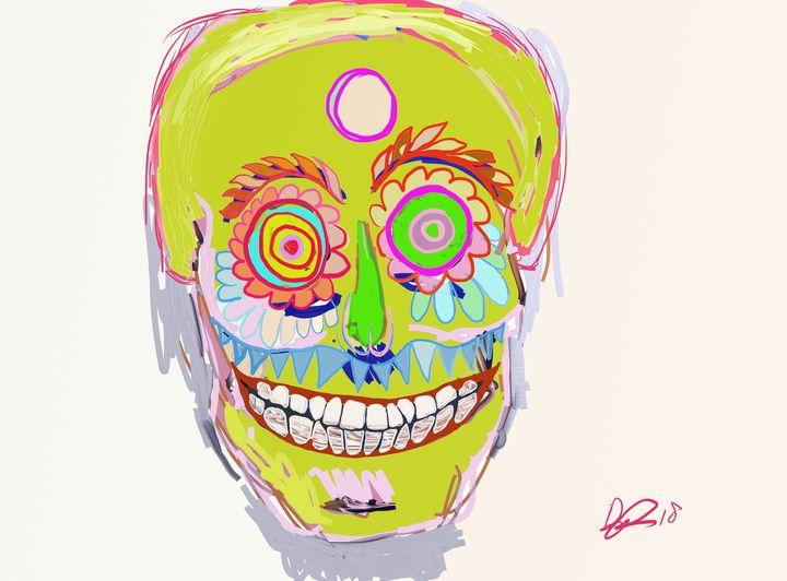 Carnival skull mask - Arcam